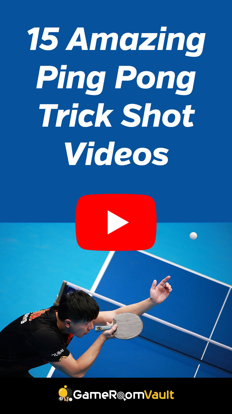 Ping Pong Trick Shot Videos