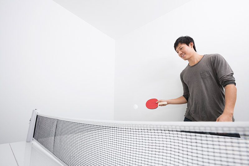 Play Ping Pong By Yourself
